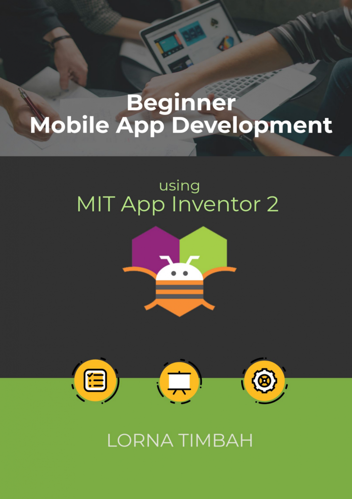 Beginner App Inventor 2 Book Cover